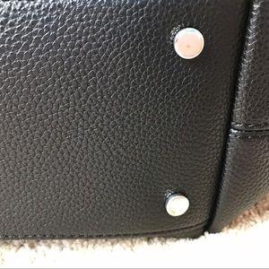 Dana Buchman Bags - Black shoulder bag with crossbody strap